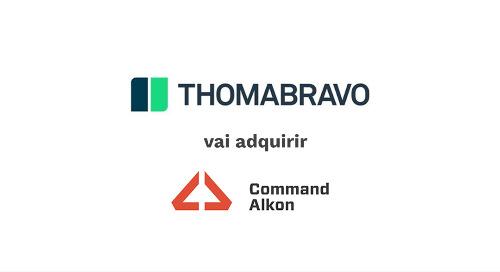 Command Alkon Anuncia Acordo de Aquisição Definitiva com Thoma Bravo