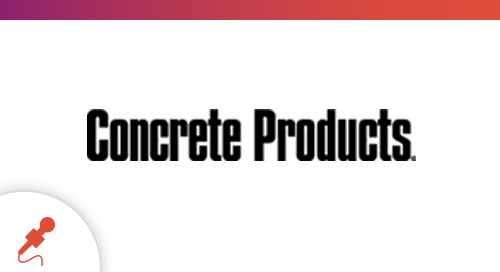 """Featured in Concrete Products: """"Command Alkon extracts data riches from industry's most confined space"""""""