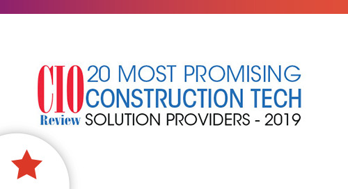 Command Alkon Named to Top 20 Most Promising Construction Tech Solutions for 2019
