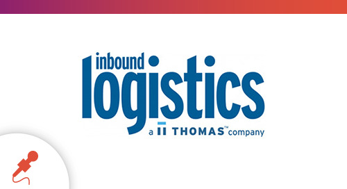 """""""Leveraging IoT in the Supply Chain"""" - Featured on Inbound Logistics"""