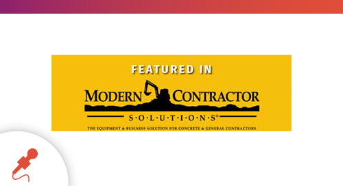 """Avoid Disruptions,"" Featured in Modern Contractor Solutions Magazine"