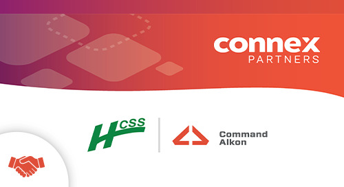 HCSS and Command Alkon Announce Alliance to Create Value for Shared Customers and Partners in Heavy Civil Construction
