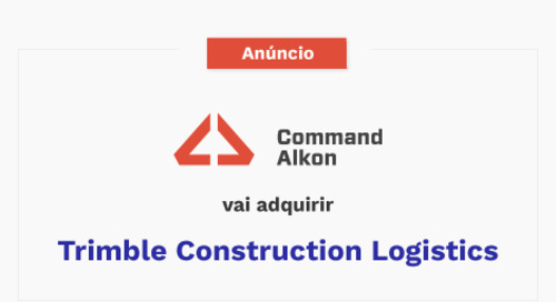 Command Alkon anuncia acordo de aquisição da Trimble Construction Logistics