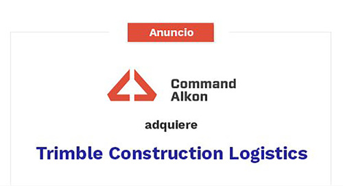Command Alkon completó la adquisición del negocio de Trimble Construction Logistics