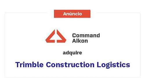 A aquisição da empresa Trimble Construction Logistics pela Command Alkon está completa