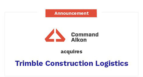 Command Alkon's Acquisition of Trimble's Construction Logistics Business is Complete