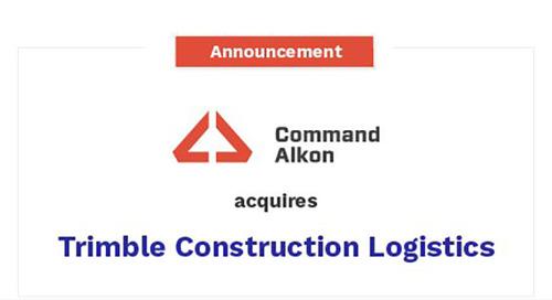 Command Alkon's Acquisition of Trimble's Construction Logistics Business is Complete