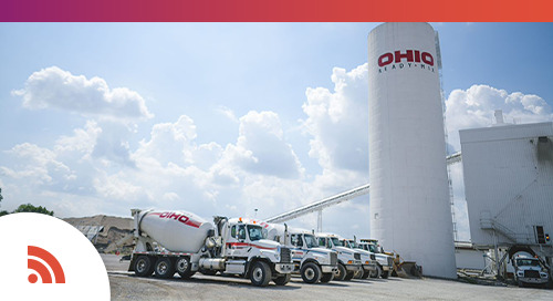 Ohio Ready Mix Enables Full Visibility in the Ready Mix Delivery Cycle