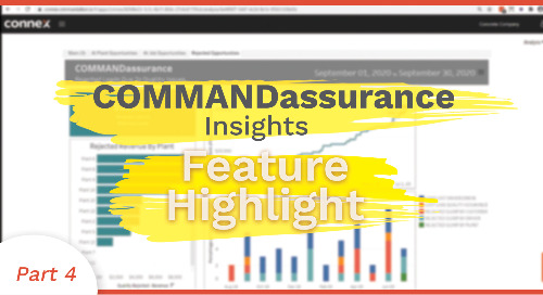 Rejected Loads Efficiency Opportunity | COMMANDassurance Feature Highlight