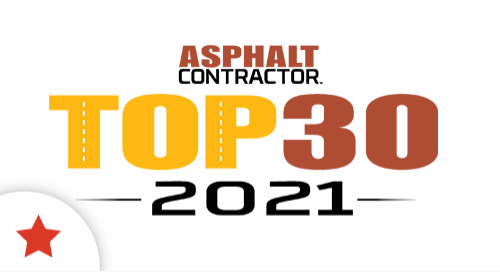 Libra Sentinel is Among the Elite, 2021 Top 30 Editor's Choice Award Winner by Asphalt Contractor