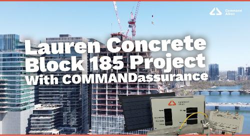 Lauren Concrete's Block 185 Project | COMMANDassurance