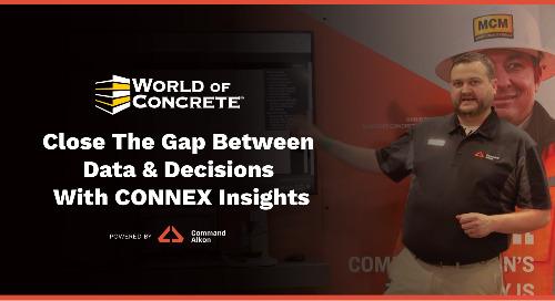 CONNEX Insights Demo | World of Concrete 2021