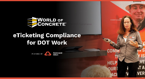 eTicketing Compliance for DOT Work | WOC 2021