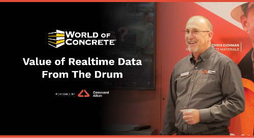 Value of Realtime Data From The Drum | WOC 2021