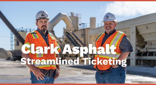 How Clark Asphalt Uses Libra to Streamline Loadout Ticketing