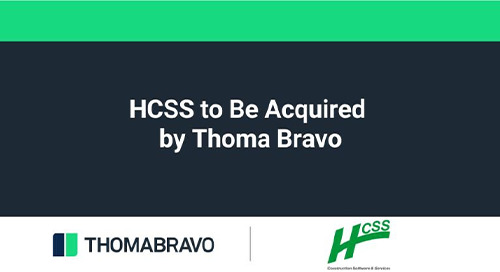 HCSS to Join the Thoma Bravo Family