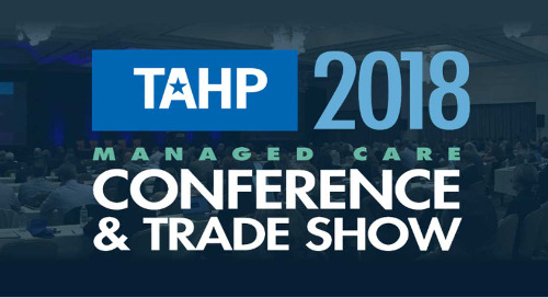 TAHP 2018 Annual Conference | November 12-14, 2018 | Houston