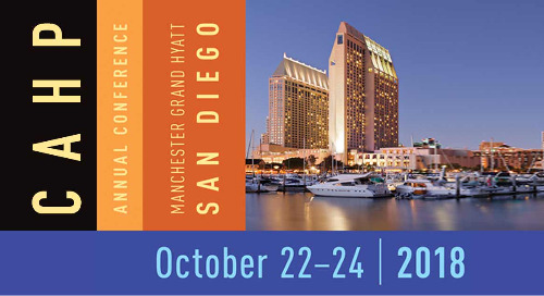 CAHP 2018 Annual Conference | October 22-24, 2018 | Huntington Beach, CA