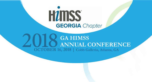 GA HIMSS 2018 Annual Conference | October 16, 2018 | Atlanta