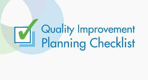 Health Plan Quality Improvement Planning Checklist