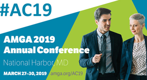 AMGA 2019 Annual Conference | March 27-30, 2019 | National Harbor, MD