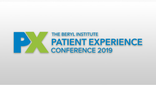 Patient Experience Conference 2019 | April 3-5, 2019 | Dallas