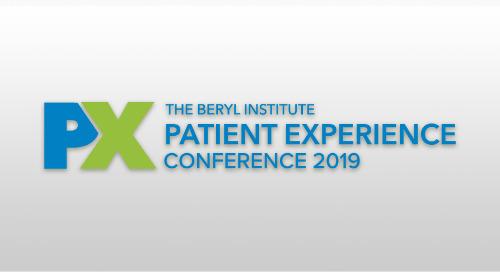 Patient Experience Conference 2019 | April 3-5, 2019 | Dallas