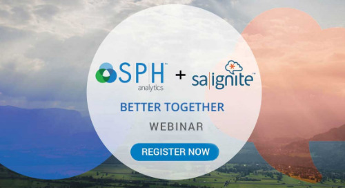 BETTER TOGETHER: SPH Analytics + SA Ignite