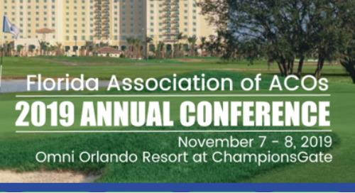 FLAACOS 2019 Annual Conference | November 7-8, 2019 | Orlando, FL