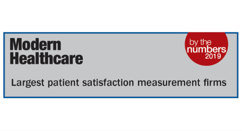 SPH Analytics Ranked as Top Patient Experience Measurement Vendor  in the Payer Market for the Third Consecutive Year
