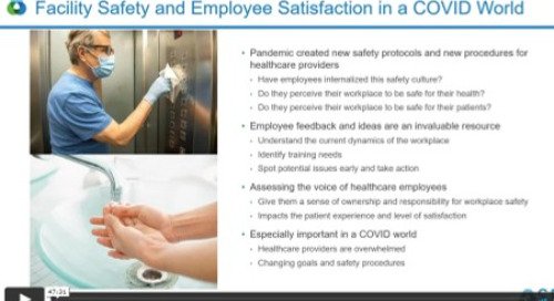 Webinar Recording: Is Your Workplace Safe? Assessing Employee Perceptions of Safety and Levels of Satisfaction in a COVID World