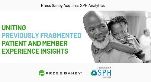 Press Ganey Acquires SPH Analytics