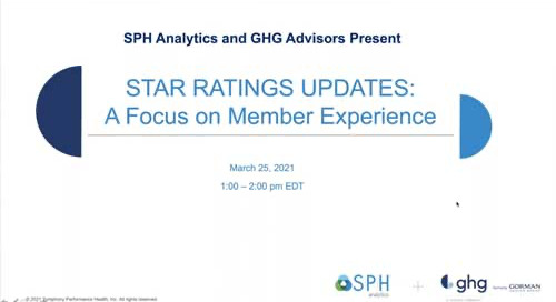 Webinar Recording: Stars Ratings Updates - A Focus on Member Experience