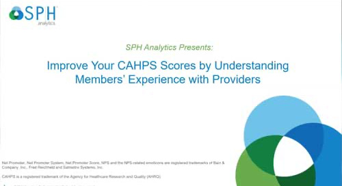 Webinar Recording: Improve Your CAHPS Scores by Understanding Members' Experience with Providers