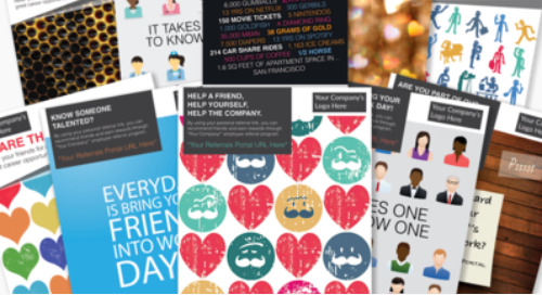 10 Employee Referral Poster Templates