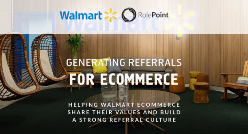 Infographic: Walmart Employee Referrals