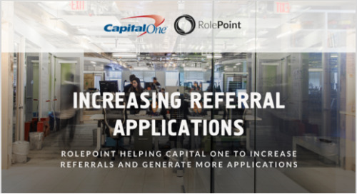 Infographic: Capital One Employee Referrals
