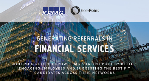 Infographic: KPMG Employee Referrals