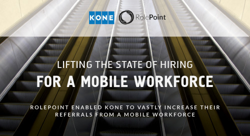 Infographic: KONE Employee Referrals