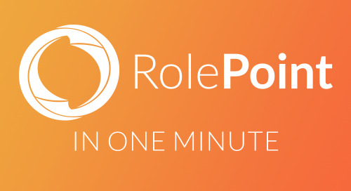 RolePoint in 1 Minute