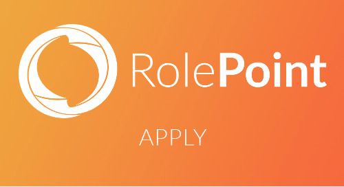 RolePoint's Apply Solution