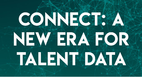 Connect: A New Era for Talent Data