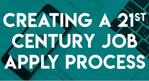 Creating a 21st Century Job Apply Process