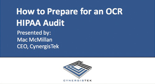 How to Prepare for an OCR Audit