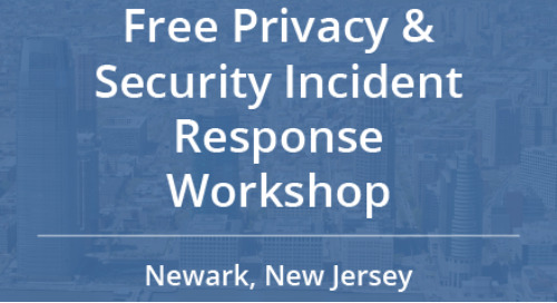 Free Privacy and Security Incident Response Workshop in Newark