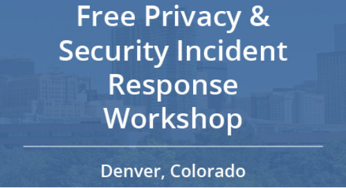 Free Privacy and Security Incident Response Workshop in Denver