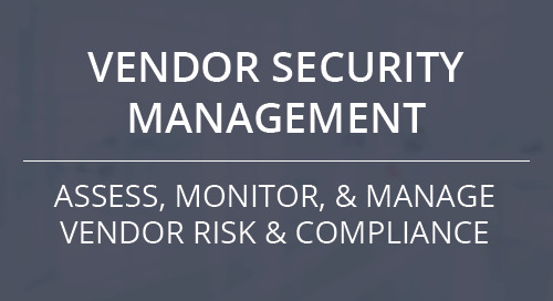 Vendor Security Management