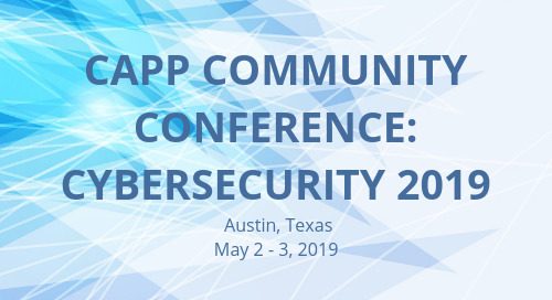CAPP Community Conference: Cybersecurity 2019