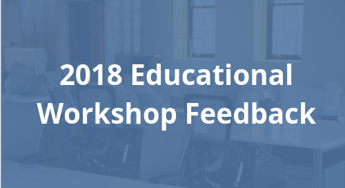 2018 Educational Workshop Feedback