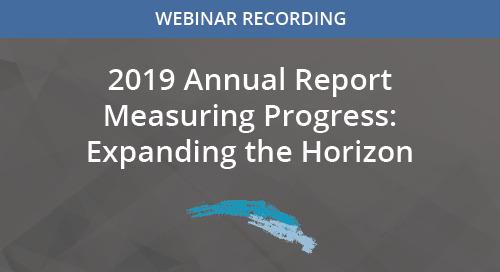 Measuring Progress Expanding the Horizon